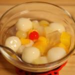 給食レシピ「フルーツポンチ」の再現