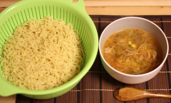 麺×味噌ラーメン(給食風)