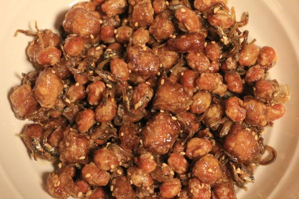 大豆の甘辛揚げアップ写真