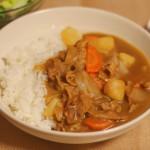 給食レシピ「カレー」の再現