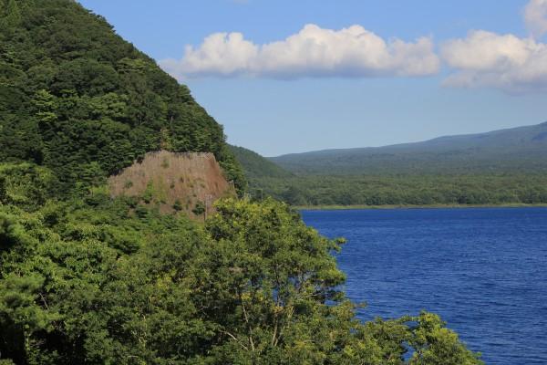 本栖湖と自然